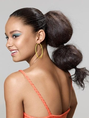 29 Gorgeous Prom Hairstyles 2018 – Cute & Easy Prom Hair Inspiration Within High Bubble Ponytail Hairstyles (View 20 of 25)