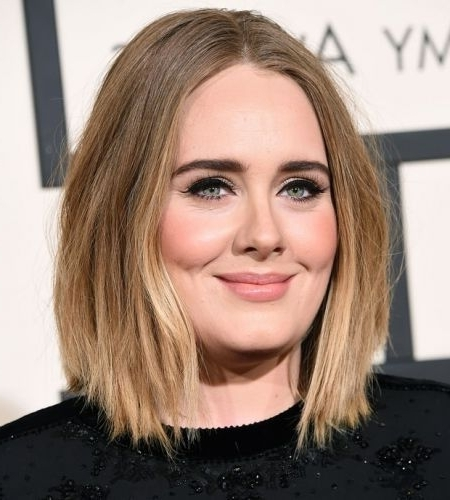29 Marvelous Middle Part Long Bob Haircuts (For Every Women) Page 1 Of 2 With Regard To Blonde Lob Hairstyles With Middle Parting (View 20 of 25)