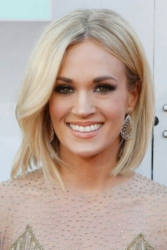 29 Marvelous Middle Part Long Bob Haircuts (For Every Women) Page 1 Of 2 Within Blonde Lob Hairstyles With Middle Parting (View 5 of 25)