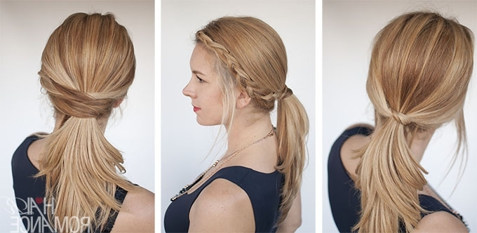 3 Chic Ponytail Tutorials To Lift Your Everyday Hair Game – Hair Romance In Ponytail Hairstyles For Fine Hair (View 7 of 25)