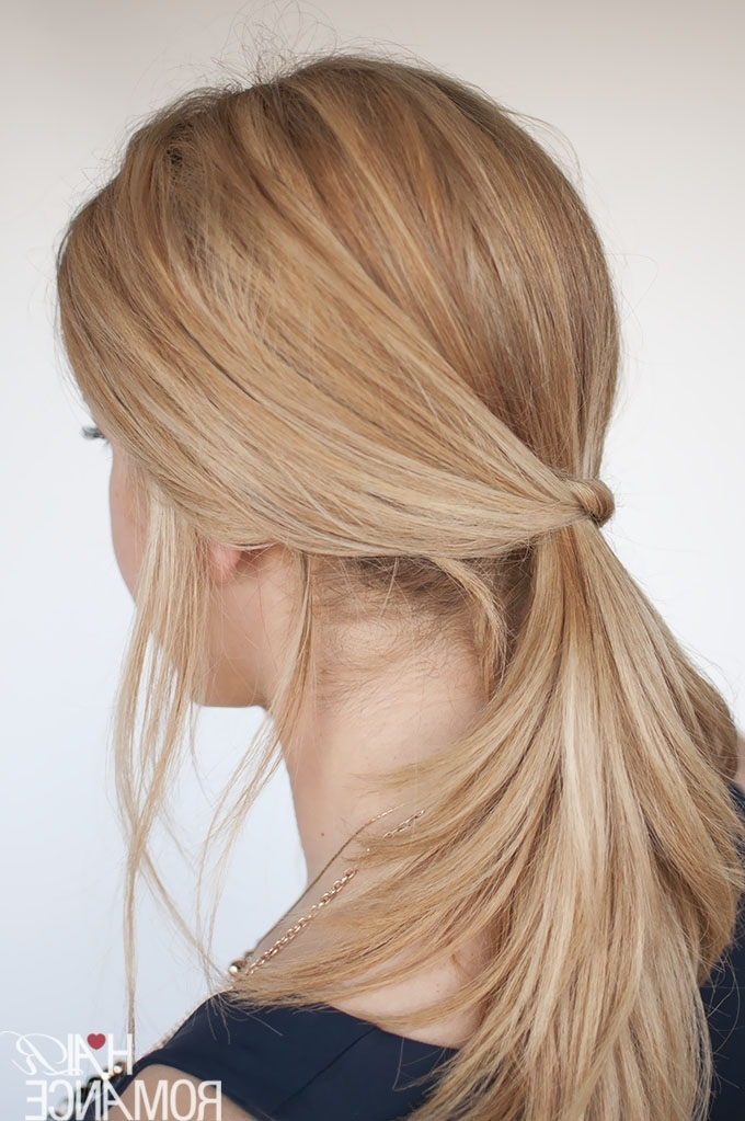 3 Chic Ponytail Tutorials To Lift Your Everyday Hair Game – Hair Romance Regarding Knotted Ponytail Hairstyles (View 7 of 25)