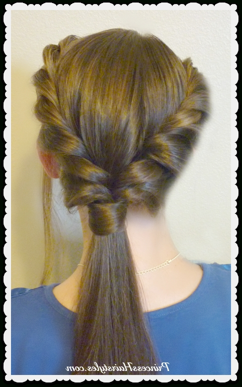 3 Easy Back To School Hairstyles, Part 2 – Hairstyles For Girls With Regard To Double Tied Pony Hairstyles (View 13 of 25)