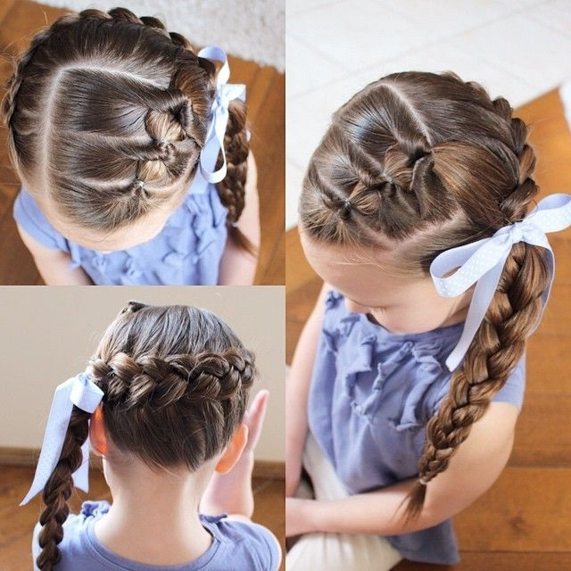 3 Flip Throughs With A Pancaked Dutch Braid Wrapped Around The Head Intended For Pony Hairstyles With Wrap Around Braid For Short Hair (View 12 of 25)