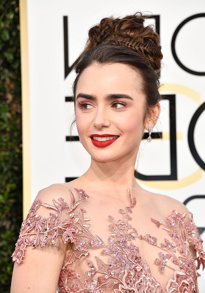 3 Golden Globes' Hairstyles You Can Steal For Your Everyday Life Within Red Carpet Worthy Hairstyles (View 3 of 25)