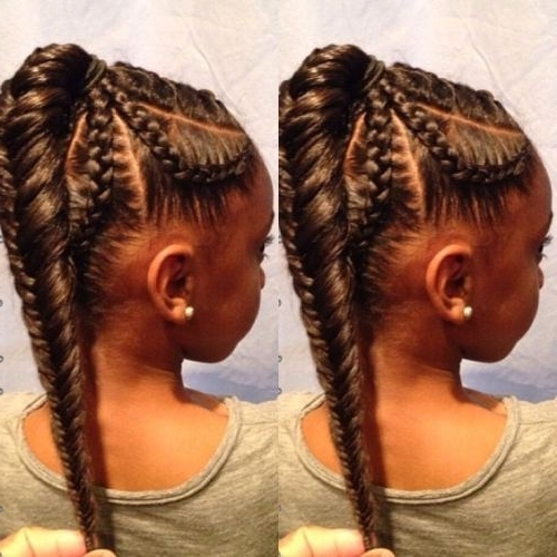 3 Striking Fishtail Braid Hairstyles For Black Women – Hairstyle Insider Within Chunky Ponytail Fishtail Braid Hairstyles (View 12 of 25)