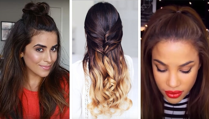 3 Ways To Wear Half Up, Half Down Hair Without Looking 12 Years Old Inside Mature Poofy Ponytail Hairstyles (View 14 of 25)