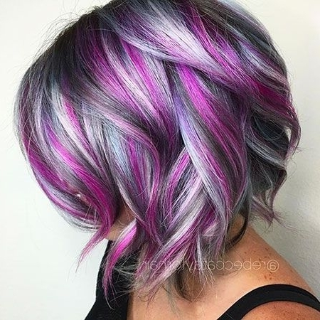 30 Amazing Short Hairstyles For 2018 | Hair & Beauty | Pinterest Inside Blonde Bob Hairstyles With Lavender Tint (View 4 of 25)