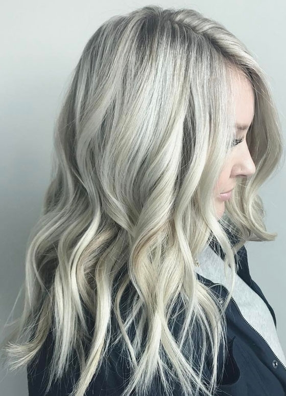 30 Ash Blonde Hair Color Ideas That You'll Want To Try Out Right Away In Blonde Hairstyles With Platinum Babylights (View 15 of 25)