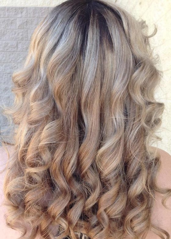30 Ash Blonde Hair Color Ideas That You'll Want To Try Out Right Away Inside Dark Roots And Icy Cool Ends Blonde Hairstyles (View 16 of 25)