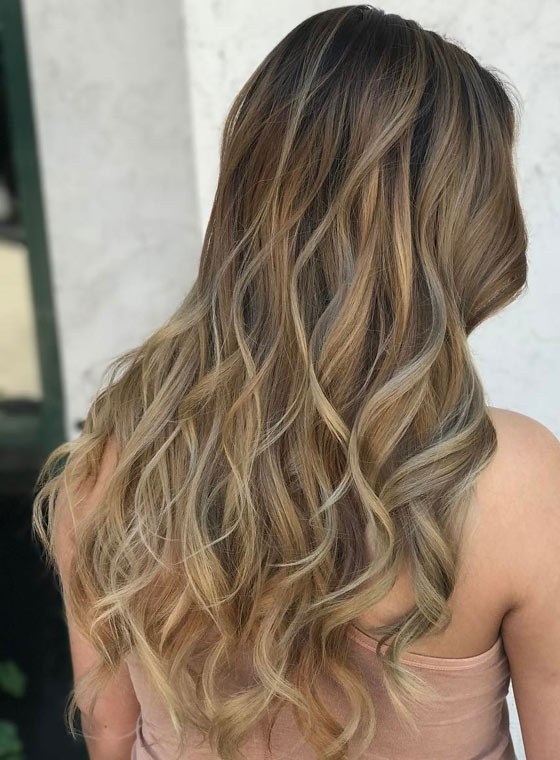 30 Ash Blonde Hair Color Ideas That You'll Want To Try Out Right Away With Regard To Cool Dirty Blonde Balayage Hairstyles (View 4 of 25)