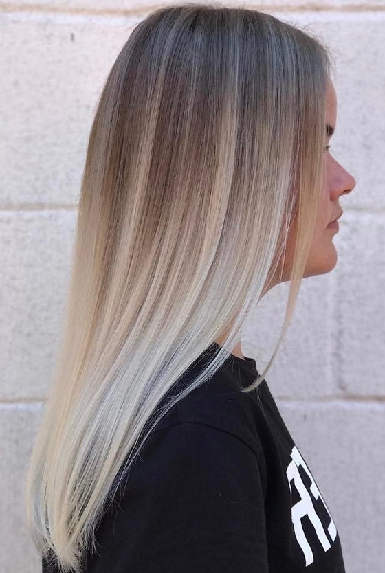 30 Ash Blonde Hair Color Ideas That You'll Want To Try Out Right Away Within Most Popular Ash Blonde Pixie Hairstyles With Nape Undercut (View 20 of 25)