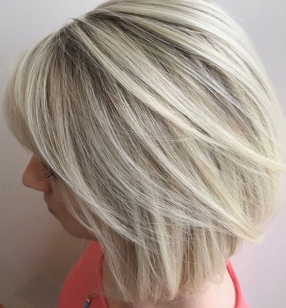 30 Ash Blonde Hair Color Ideas That You'll Want To Try Out Right Away Within Rooty Long Bob Blonde Hairstyles (View 9 of 25)
