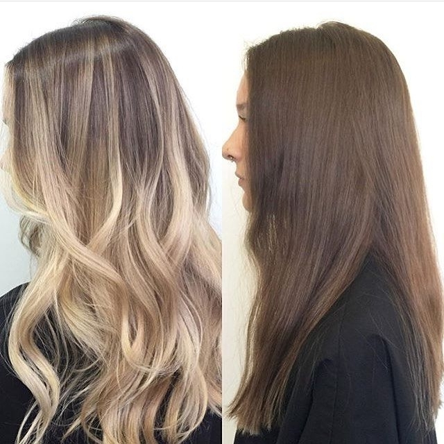 30 Balayage Long Hairstyles 2018 – Balayage Hair Color Ideas: Blonde Intended For Beige Balayage For Light Brown Hair (View 5 of 25)