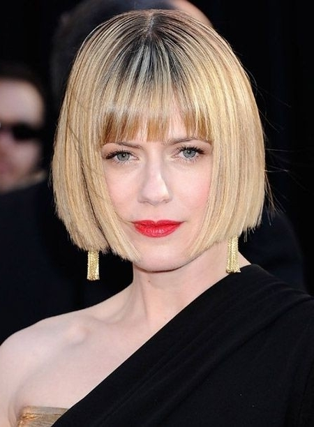 30 Best Bob Hairstyles For Short Hair – Popular Haircuts Inside Cute Blonde Bob With Short Bangs (View 6 of 25)