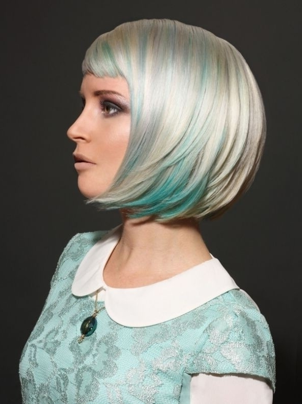 30 Best Bob Hairstyles For Short Hair – Popular Haircuts Intended For Asymmetry Blonde Bob Hairstyles Enhanced By Color (View 11 of 25)