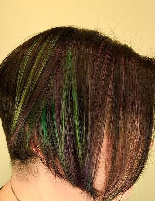 30 Best Highlight Ideas For Dark Brown Hair For Blonde Hairstyles With Green Highlights (View 5 of 25)