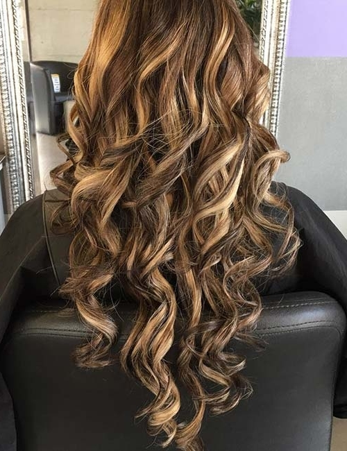 30 Best Highlight Ideas For Dark Brown Hair Inside Light Brown Hairstyles With Blonde Highlights (View 22 of 25)