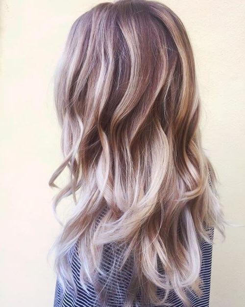 30 Best Platinum Blonde Hair Colors For 2018 Inside Pearl Blonde Bouncy Waves Hairstyles (View 11 of 25)