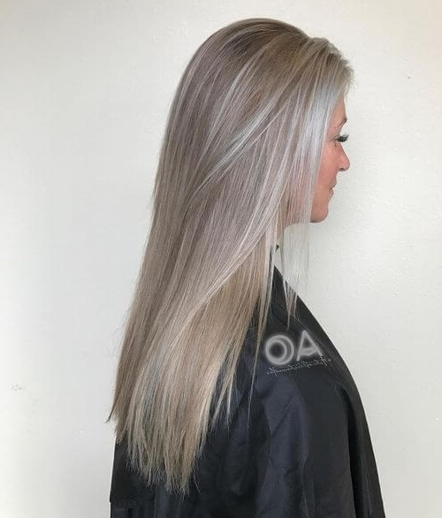 30 Best Platinum Blonde Hair Colors For 2018 Pertaining To Pearl Blonde Highlights (View 8 of 25)