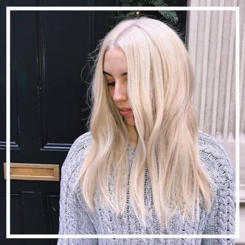 30 Best Platinum Blonde Hair Colors For 2018 Throughout Pale Blonde Balayage Hairstyles (View 11 of 25)