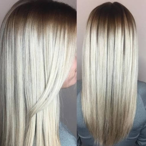 30 Best Platinum Blonde Hair Colors For 2018 With Platinum Highlights Blonde Hairstyles (View 8 of 25)