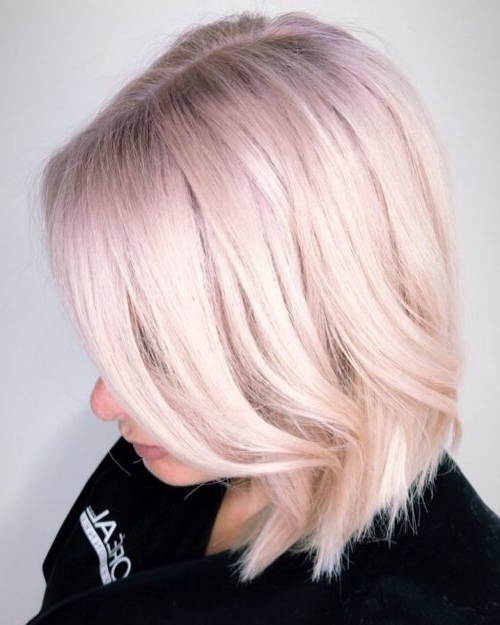 30 Best Platinum Blonde Hair Colors For 2018 Within Platinum And Purple Pixie Blonde Hairstyles (View 13 of 25)