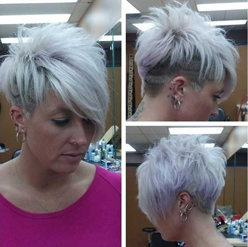 30 Best Short Hair Cuts | Short Hairstyles 2017 – 2018 | Most Inside Most Recent Bleach Blonde Pixie Hairstyles (View 8 of 25)