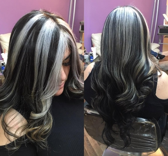 30 Chic Highlight Ideas For Your Brown Hair With Thin Platinum Highlights Blonde Hairstyles (View 22 of 25)