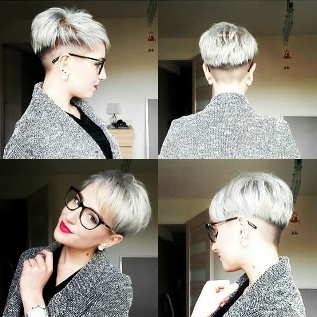 30 Chic Pixie Haircuts – Best Pixie Cuts We Love For 2017 With Recent Finely Chopped Buttery Blonde Pixie Hairstyles (View 15 of 25)