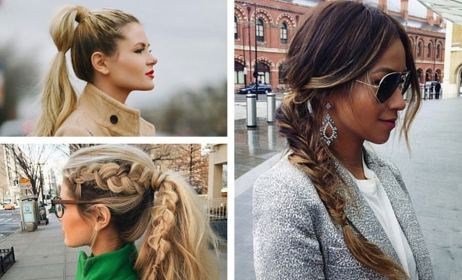 30 Cute Ponytail Hairstyles You Need To Try | Stayglam Pertaining To Dyed Simple Ponytail Hairstyles For Second Day Hair (View 11 of 25)