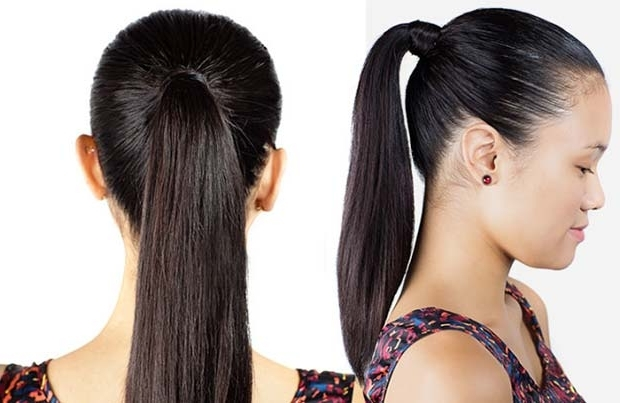 30 Cute Ponytail Hairstyles You Need To Try | Stayglam Pertaining To Straight High Ponytail Hairstyles With A Twist (View 8 of 25)