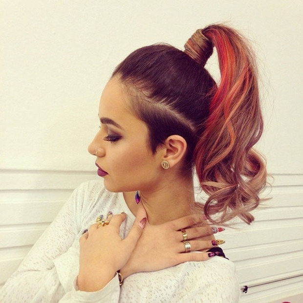 30 Cute Ponytail Hairstyles You Need To Try | Stayglam Within Dyed Simple Ponytail Hairstyles For Second Day Hair (View 16 of 25)