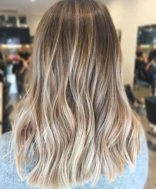 30 Dirty Blonde Hair Ideas 2017 | Herinterest/ Within Cool Dirty Blonde Balayage Hairstyles (View 6 of 25)