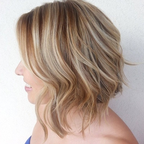 30 Epic Blonde Hairstyles With Lowlights To Look Like A Star Regarding Golden Bronze Blonde Hairstyles (View 17 of 25)