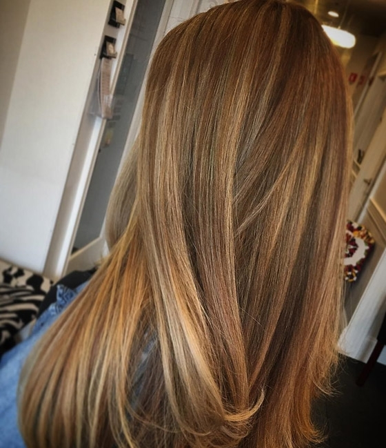 30 Honey Blonde Hair Color Ideas You Can't Help Falling In Love With With Butterscotch Blonde Hairstyles (View 12 of 25)