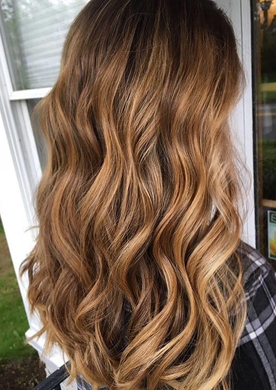 30 Honey Blonde Hair Color Ideas You Can't Help Falling In Love With With Golden Bronze Blonde Hairstyles (View 18 of 25)