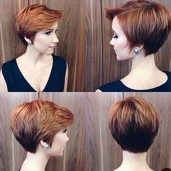 30 Hottest Pixie Haircuts 2018 – Classic To Edgy Pixie Hairstyles With Regard To Most Recently Reddish Brown Layered Pixie Bob Hairstyles (View 2 of 25)
