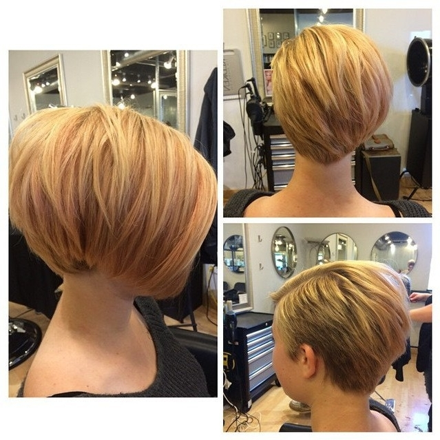 30 Latest Chic Bob Hairstyles For 2018 – Pretty Designs Pertaining To Short Blonde Bob Hairstyles With Layers (View 5 of 25)