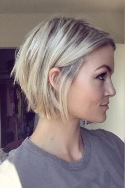 30 Layered Bob Haircuts For Weightless Textured Styles With Inverted Blonde Bob For Thin Hair (View 8 of 25)