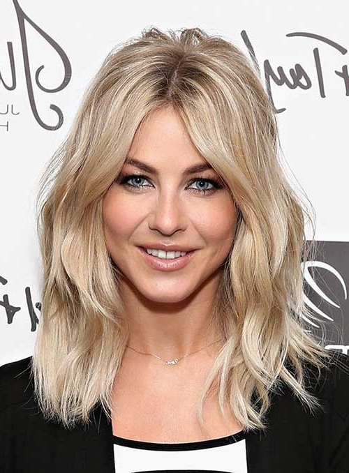 30 Lob Haircuts For Women – Be Your Own Kind Of Beautiful – Haircuts With Regard To Blonde Lob Hairstyles With Middle Parting (View 6 of 25)