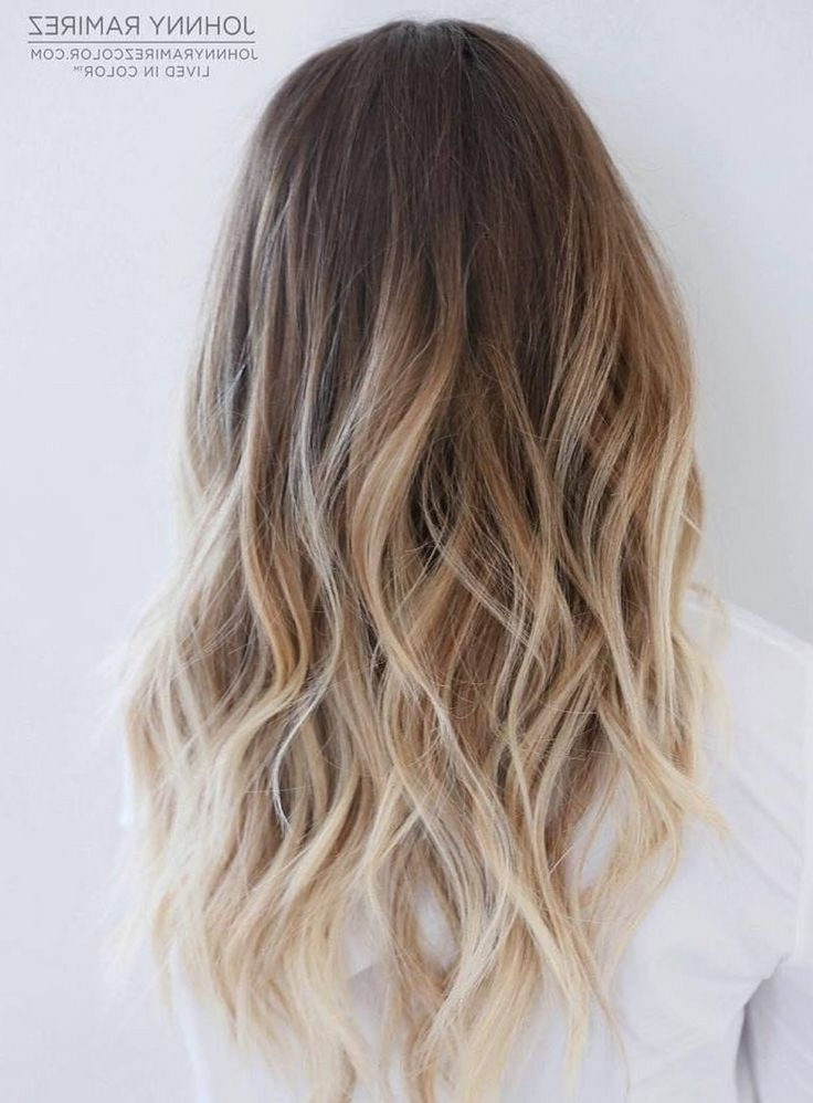 30 Medium Length Hairstyles | Visit My Channel For More Other Medium With Shoulder Length Ombre Blonde Hairstyles (View 9 of 25)