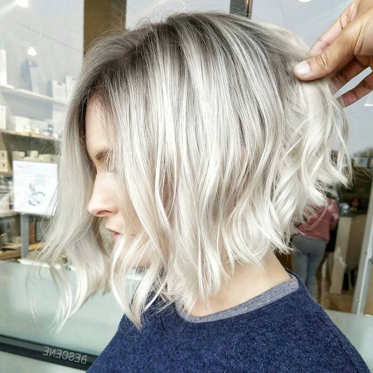 30 Most Attractive Short Hairstyles For Thin Hair – Haircuts Within Inverted Blonde Bob For Thin Hair (View 9 of 25)