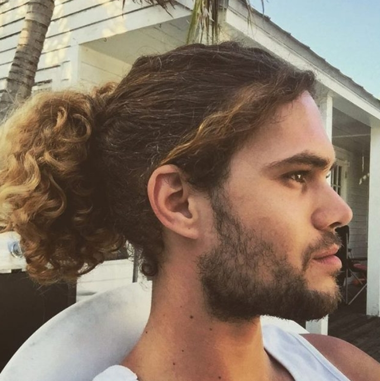 30 Most Popular Ponytail Hairstyles For Men 2018 Intended For High And Glossy Brown Blonde Pony Hairstyles (View 23 of 25)