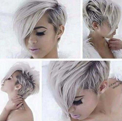 30 Pixie Cut Styles | Short Hairstyles 2017 – 2018 | Most Popular In Most Recent Silver And Brown Pixie Hairstyles (View 13 of 25)