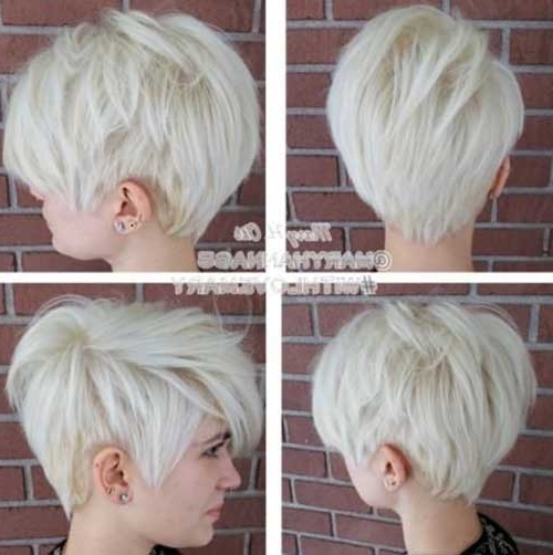 30 Pixie Cut Styles | Short Hairstyles 2017 – 2018 | Most Popular Regarding Most Up To Date Bleach Blonde Pixie Hairstyles (View 21 of 25)
