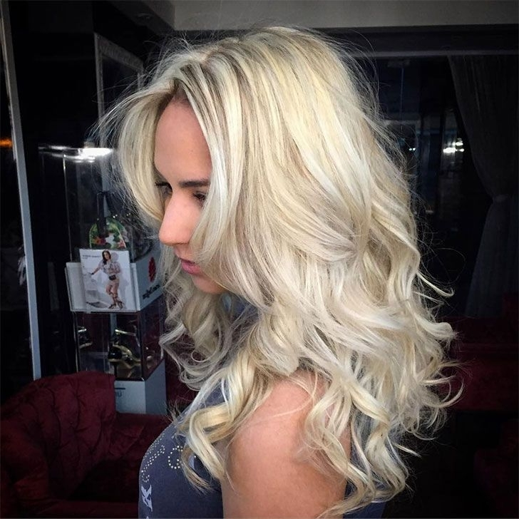 Featured Photo of Lush And Curly Blonde Hairstyles