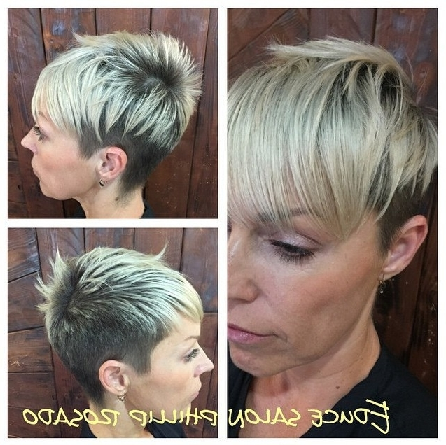30 Popular Daily Short Haircuts For Women – Hairstyles Weekly For Recent Two Tone Pixie Hairstyles (View 13 of 25)
