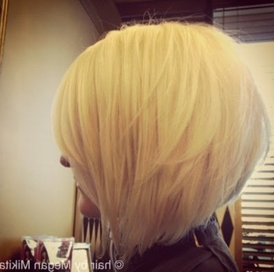 30 Popular Stacked A Line Bob Hairstyles For Women | Styles Weekly Pertaining To Stacked White Blonde Bob Hairstyles (View 24 of 25)