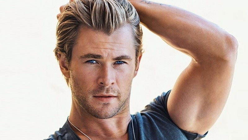 30 Sexy Blonde Hairstyles For Men – The Trend Spotter Intended For White Blonde Hairstyles With Dark Undercut (View 17 of 25)