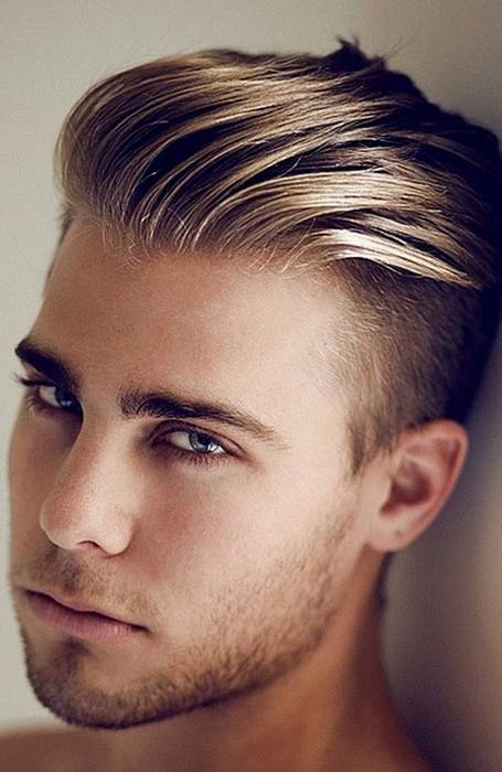 30 Sexy Blonde Hairstyles For Men – The Trend Spotter Within Long Top Undercut Blonde Hairstyles (View 25 of 25)
